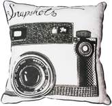 Graham & Brown Black and white snapshots cushion