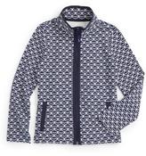 Vineyard Vines Girl's Whale Tail Zip Jacket