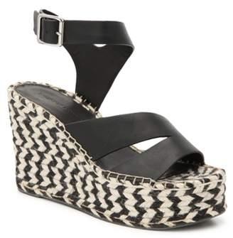 Sigerson Morrison Luxury Arien Espadrille Wedge Sandal