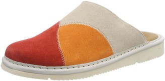 Fortuna Unisex's Nelly Open Back Slippers