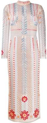 Temperley London teahouse sleeve dress