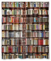 "Library Shower Curtain Custom Neat Bookshelf,Library Waterproof Polyester Fabric Bathroom Shower Curtain 60"" x 72"""