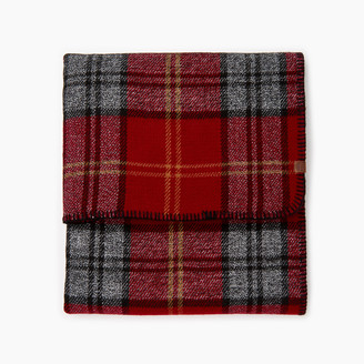Roots Smoke Lake Plaid Blanket Scarf