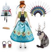 Disney Anna Singing Doll Set - 11'' - Frozen Fever