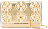 Fendi floral clutch - women - Leather - One Size