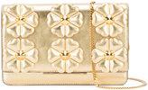 Fendi floral clutch