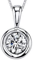 Sirena 1/12 CT. T.W. Diamond 14K White Gold Pendant Necklace