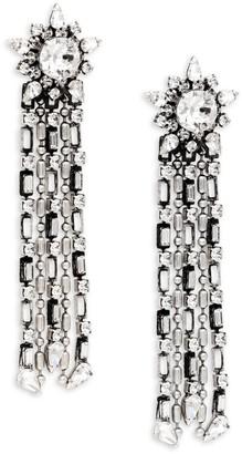 Dannijo Phoebe Swarovski Crystal Chandelier Earrings