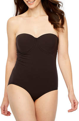 Ambrielle Wonderful Edge Strapless Convertible Firm Control Body Shaper - 1294003