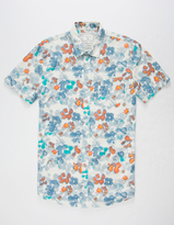 Quiksilver Only Flowers Mens Shirt