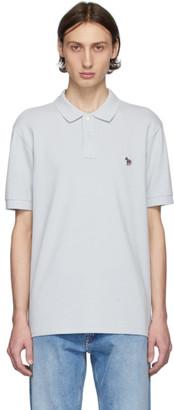 Paul Smith Grey Zebra Slim Fit Polo