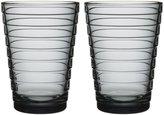 iittala (Iittala) Aino Aalto high gray bowl 33cl [2 pieces] (japan import)