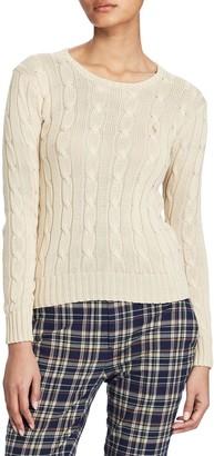 Ralph Lauren Polo Cable-Knit Cotton Jumper