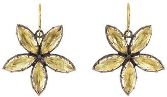 Larkspur & Hawk 14kt gold Sadie Astra earrings