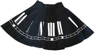 JC de CASTELBAJAC Black Cotton Skirts