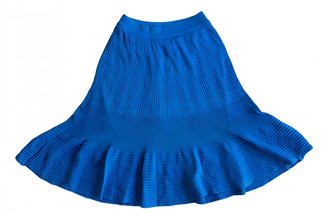 Alaia Blue Skirt for Women