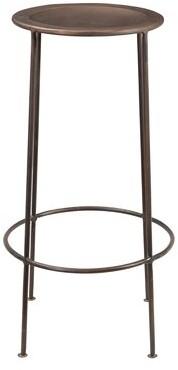 "Robbinsdale Bar & Counter Stool (Set of 2) Ebern Designs Seat Height: Bar Stool (30"" Seat Height), Color: Copper"
