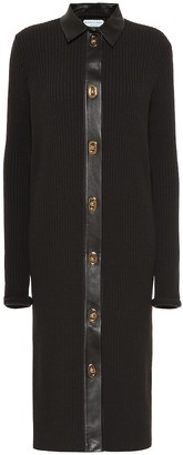 Bottega Veneta Merino wool-blend shirt dress