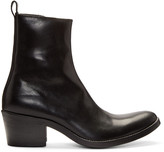 Haider Ackermann Black Leather Boots