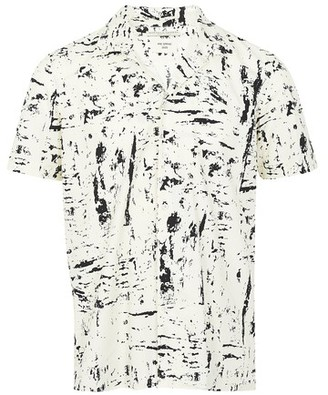 Bottega Veneta Printed shirt with short sleeves