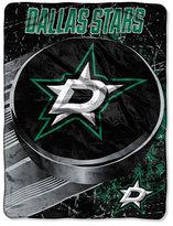 Northwest Company Dallas Stars Micro Raschel Ice Dash Throw Blanket