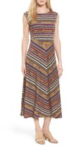 Chaus Women's Wild Procession Print Jersey Maxi Dress