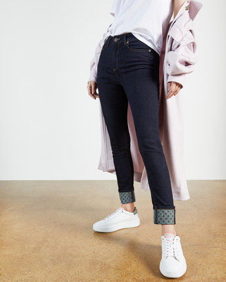 Ted Baker STEFAH Skinny jean with printed cuff
