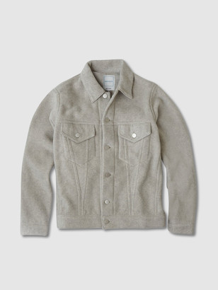 Jason Scott Women's Trucker Jacket - Oatmeal