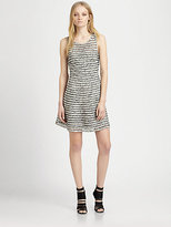 Parker Key Mesh-Trim Dress