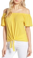 Cupcakes And Cashmere Women's Kathie Off The Shoulder Top