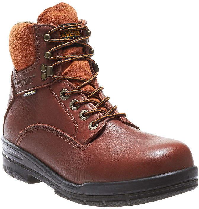 c7b8dbd6d1e Mens Durashocks Slip Resistant Steel Toe Lace-up Work Boots