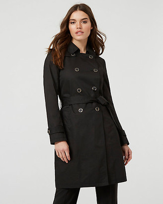 Le Château Cotton Double-Breasted Trench Coat