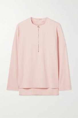 Stella McCartney + Net Sustain Arlesa Stretch-cady Blouse - Pastel pink