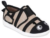 Emu Zebra Cotton Gabardine Slip-On Sneakers