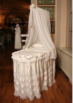 Loretta Caponi Silk Satin And Lace Crib Set