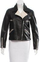 Rag & Bone Two-Tone Leather Jacket