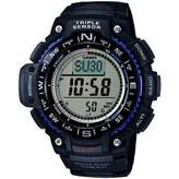 Casio Sgw1000-1Aer Wrist Watchtriple Sensordigital Compassworld Timeblack