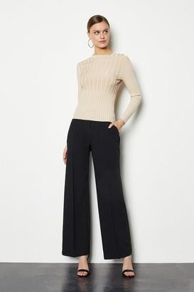 Karen Millen Tailored Track Style Trousers