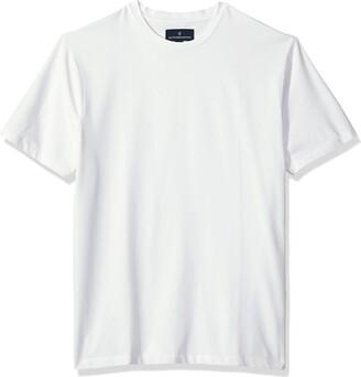 Buttoned Down Men's Short-Sleeve Crew Neck Supima Cotton Stretch T-Shirt
