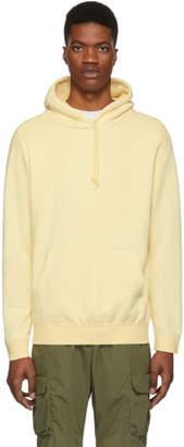 John Elliott Yellow Vintage Hoodie