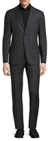 Z Zegna Buttoned Wool Suit