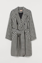 H&M H&M+ Dogtooth-patterned coat