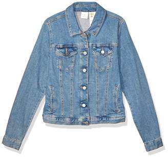 Tommy Hilfiger Women's Adaptive Jean Jacket with Magnetic Buttons