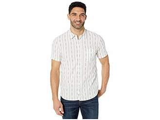 Lucky Brand Men's Short Sleeve Button Up One Pocket Ballona Shirt