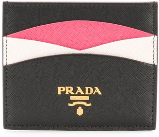 Prada saffiano credit card holder