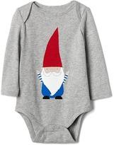 Gap Organic gnome bodysuit