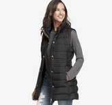 Johnston & Murphy Long Quilted Vest