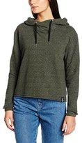 Superdry Women O L LUXE BLACKENED HOOD sweatshirt,M
