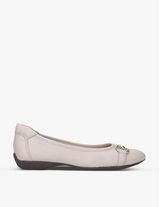 Carvela Comfort Click suede ballet flats