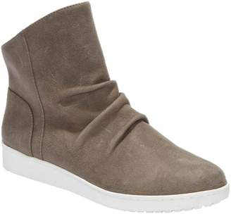 Tucker Adam Leather High-Top Ruched Sneakers -Rue